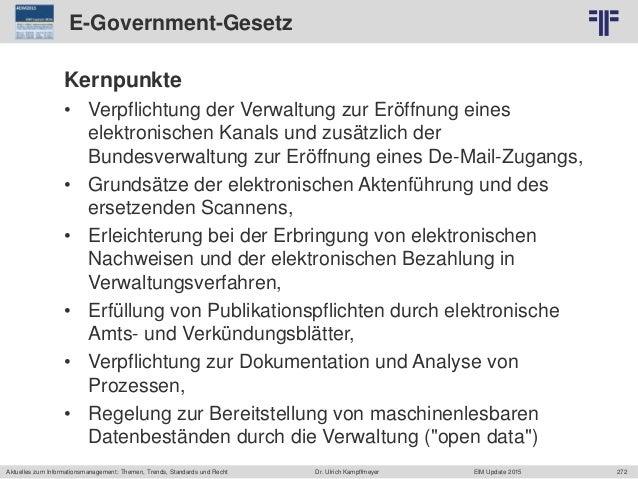 272 © PROJECT CONSULT Unternehmensberatung Dr. Ulrich Kampffmeyer GmbH 2011 / Autorenrecht: <Vorname Nachname> Jun-15 / Qu...