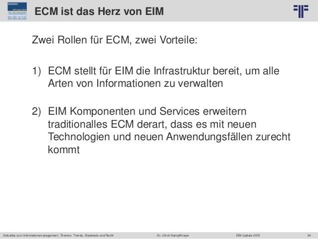 34 © PROJECT CONSULT Unternehmensberatung Dr. Ulrich Kampffmeyer GmbH 2011 / Autorenrecht: <Vorname Nachname> Jun-15 / Que...