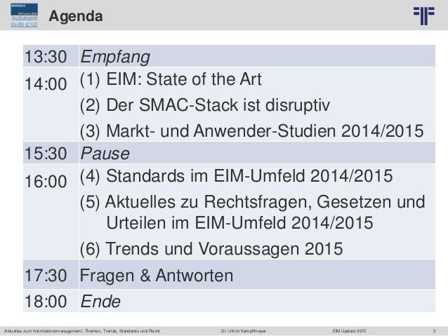2 © PROJECT CONSULT Unternehmensberatung Dr. Ulrich Kampffmeyer GmbH 2011 / Autorenrecht: <Vorname Nachname> Jun-15 / Quel...