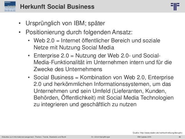 66 © PROJECT CONSULT Unternehmensberatung Dr. Ulrich Kampffmeyer GmbH 2011 / Autorenrecht: <Vorname Nachname> Jun-15 / Que...
