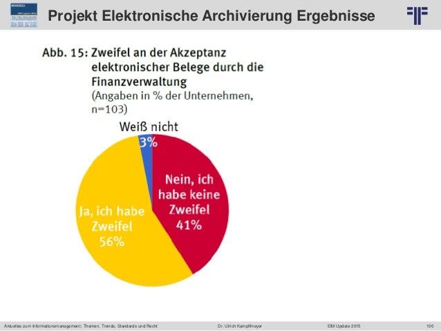 100 © PROJECT CONSULT Unternehmensberatung Dr. Ulrich Kampffmeyer GmbH 2011 / Autorenrecht: <Vorname Nachname> Jun-15 / Qu...