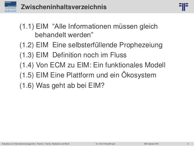 9 © PROJECT CONSULT Unternehmensberatung Dr. Ulrich Kampffmeyer GmbH 2011 / Autorenrecht: <Vorname Nachname> Jun-15 / Quel...