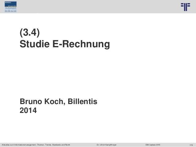178 © PROJECT CONSULT Unternehmensberatung Dr. Ulrich Kampffmeyer GmbH 2011 / Autorenrecht: <Vorname Nachname> Jun-15 / Qu...