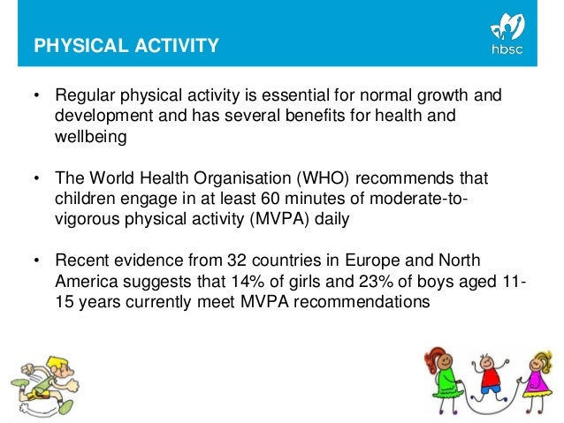 physical activity in school aged children The aha's recommendations for physical activity in children  why is exercise or physical activity important  a healthy school environment can result in.