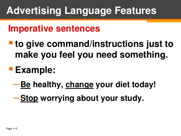 advertising language A printable resource with some adverts i made up i used them for children to find the features of adverts - slogans, questions, description of benefits.