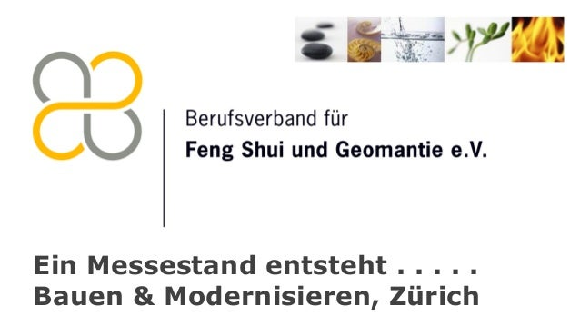 Ein Messestand entsteht . . . . . Bauen & Modernisieren, Zürich