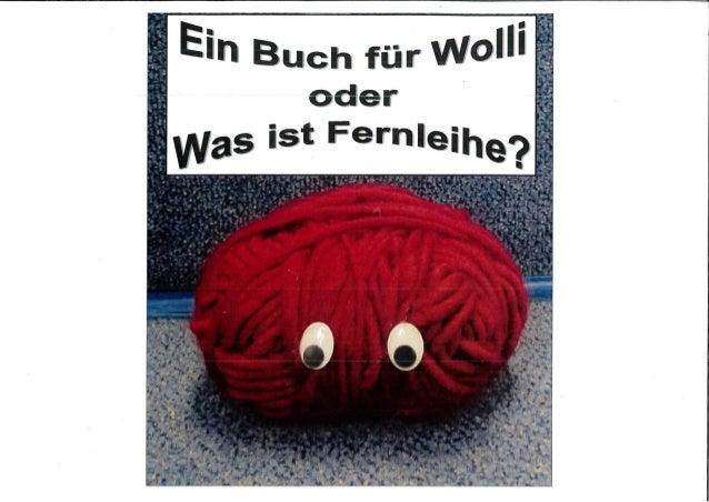 Ein Buch für Wolli