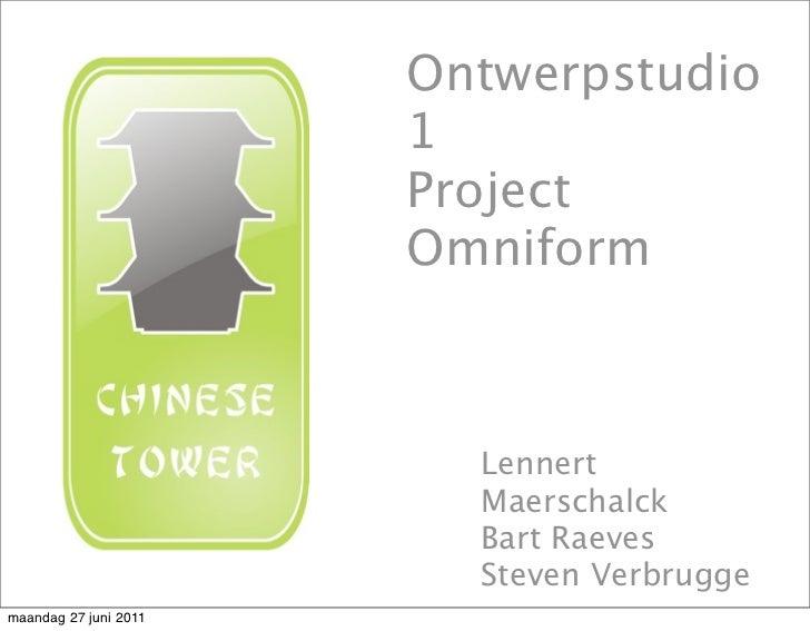 Ontwerpstudio                       1                       Project                       Omniform                        ...