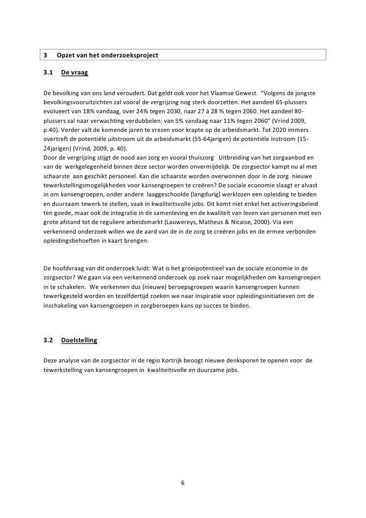 voorbeeld sollicitatiebrief gehandicaptenzorg Eindrapport kansengroepen in de zorgsector januari 2011 led sociale e… voorbeeld sollicitatiebrief gehandicaptenzorg