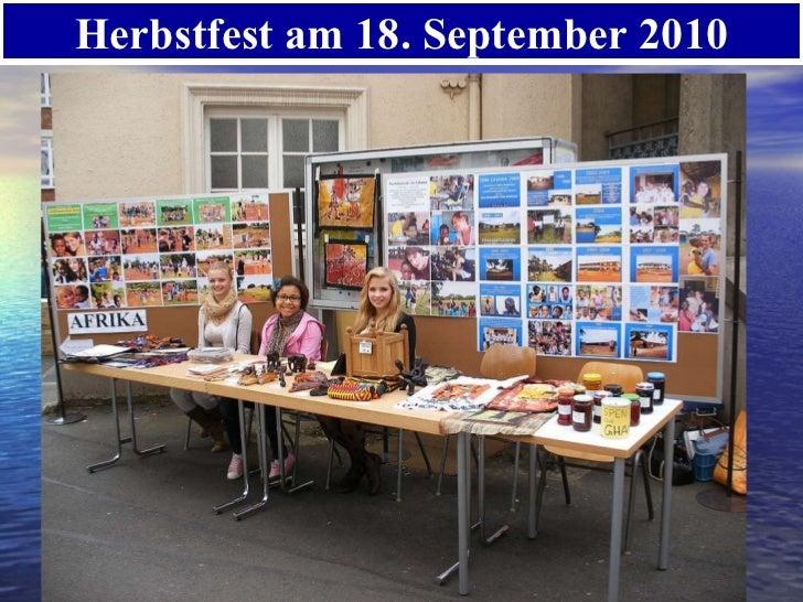 Herbstfest am 18. September 2010