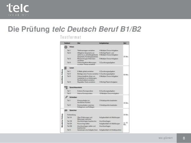 Deutsch Für Den Beruf B1 German Courses