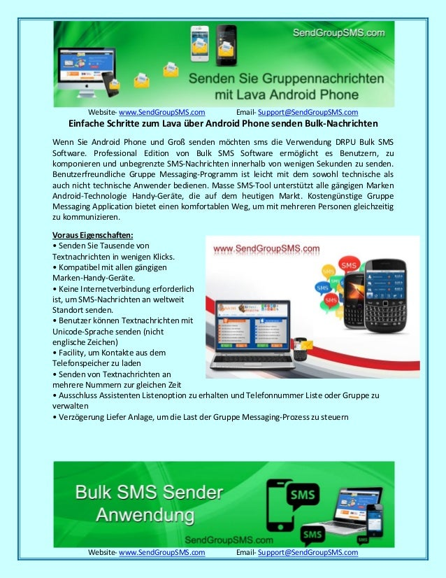 Website- www.SendGroupSMS.com Email- Support@SendGroupSMS.com Website- www.SendGroupSMS.com Email- Support@SendGroupSMS.co...