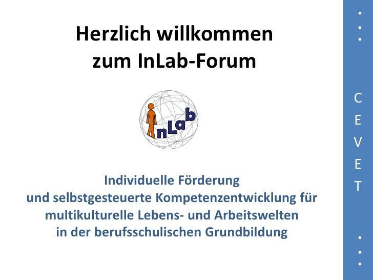 Herzlich willkommen         zum InLab-Forum                                                 C                             ...