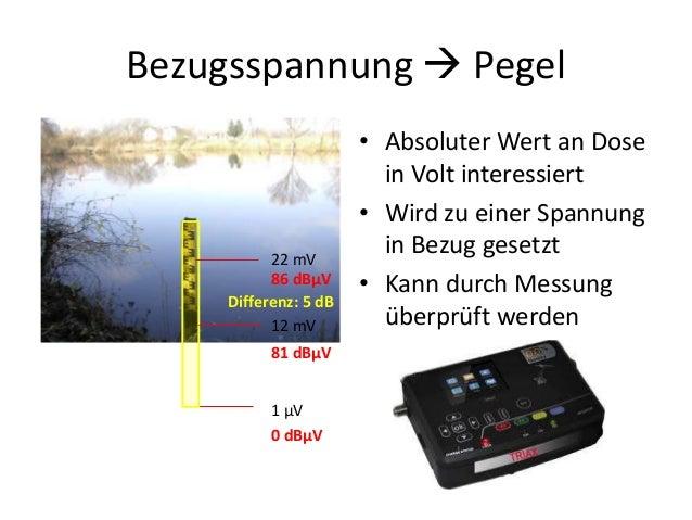 Einführung Koaxiale Systeme Pegel Slide 3