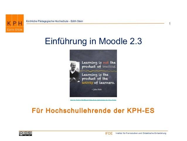 Kirchliche Pädagogische Hochschule - Edith Stein                                                                          ...