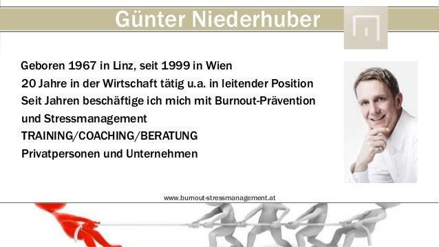 Günter NiederhuberGeboren 1967 in Linz, seit 1999 in Wien20 Jahre in der Wirtschaft tätig u.a. in leitender PositionSeit J...