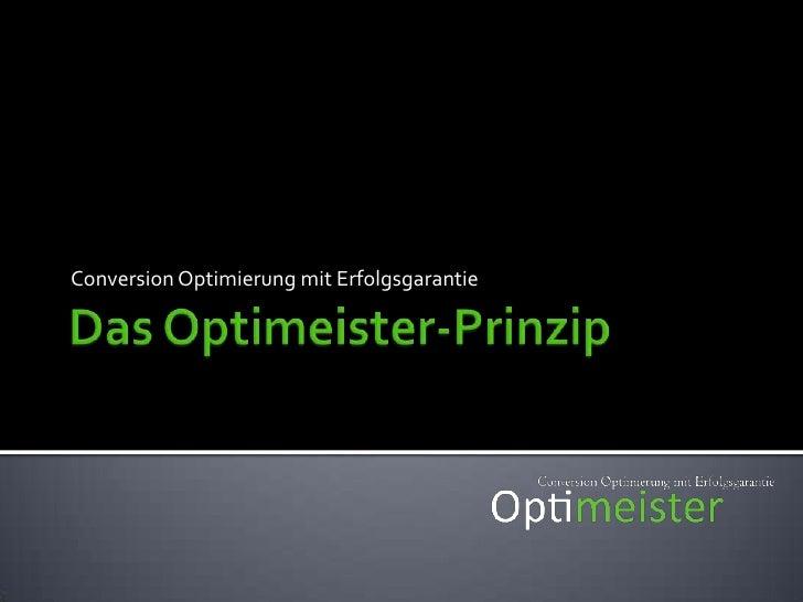 Einführung: Testing<br />Conversion Optimierung mit Websitetesting<br />