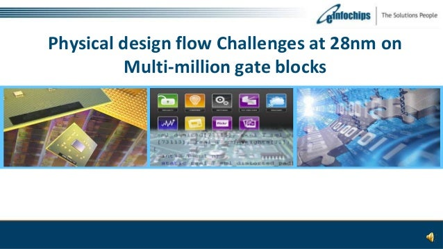Physical design flow Challenges at 28nm on Multi-million gate blocks