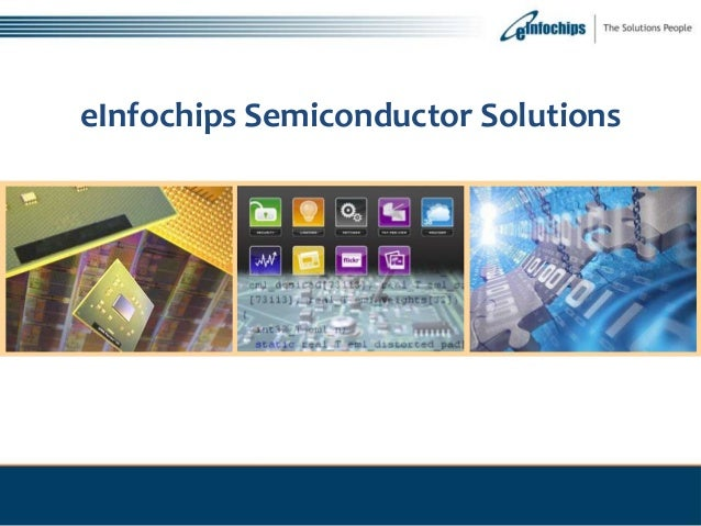 eInfochips Semiconductor Solutions