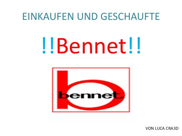 EINKAUFEN UND GESCHAUFTE  !!Bennet!!  VON LUCA CRA3D