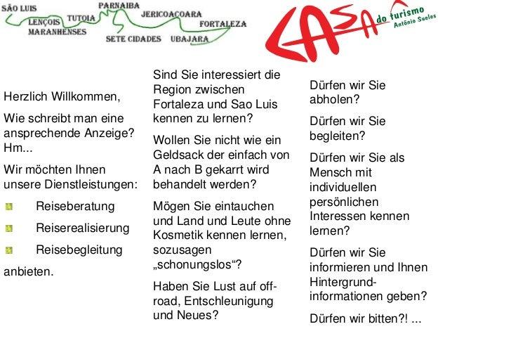 <ul><li>Herzlich Willkommen, </li></ul><ul><li>Wie schreibt man eine ansprechende Anzeige? Hm...  </li></ul><ul><li>Wir mö...