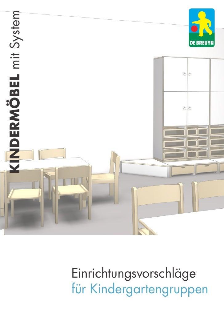 kindermöbel mit System                         Einrichtungsvorschläge                         für Kindergartengruppen