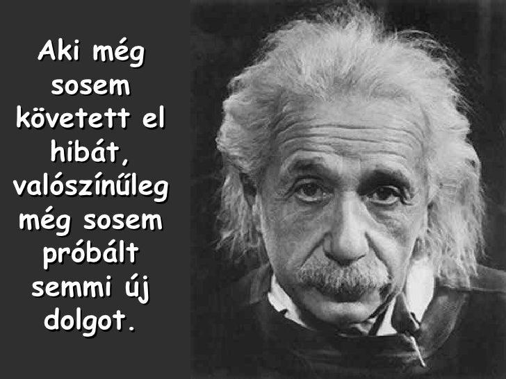 idézetek hibákról Einstein Idézetek