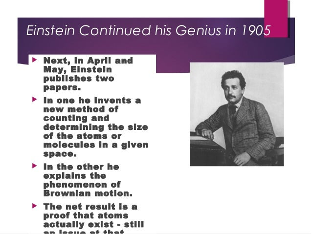 albert einstein 20th century genius essay Albert einstein was born at ulm, in württemberg, germany, on march 14, 1879   einstein always appeared to have a clear view of the problems of physics and.
