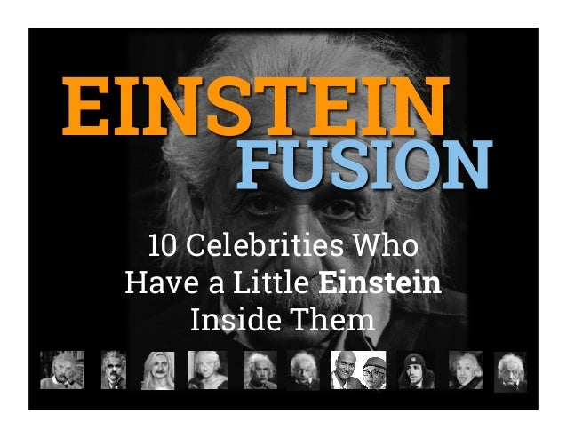10 Celebrities Who Have a Little Einstein Inside Them