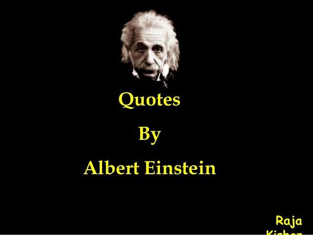Quotes By Albert Einstein Raja