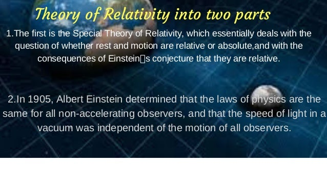 Einsteins Theory Of General Relativity