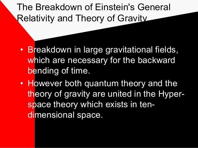 einstein theory of time travel pdf