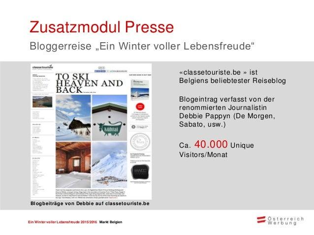 Ein Winter voller Lebensfreude 2015/2016 Markt Belgien June.be ist ein Online Reisemagazin des belgischen Journalisten Ton...