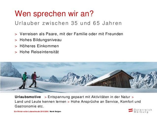 Ein Winter voller Lebensfreude 2015/2016 Markt Belgien > Flexiblere Partnerbeteiligung durch buchbare Zusatzmodule > Im Au...
