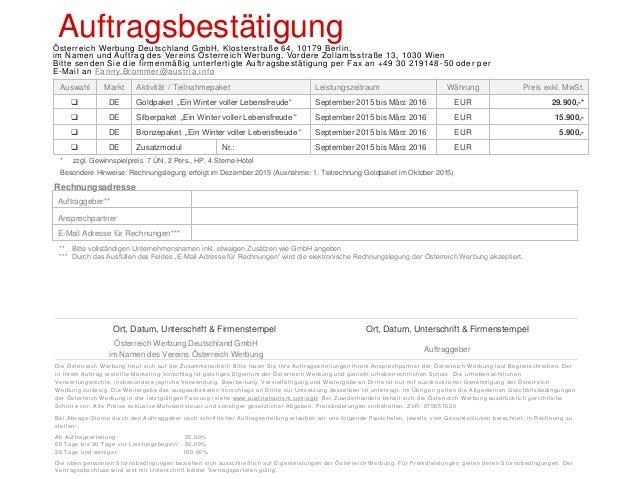 Fanny Brommer Fanny.Brommer@austria.info Tel.: 0049 30 219 48 52 Fax: 0049 30 219 48 50 Klosterstraße 64 10179 Berlin Deut...
