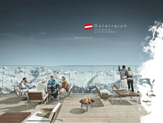 Ein Winter voller Lebensfreude Die Marketingkampagne der Österreich Werbung in Großbritannien 2015/2016 Karoline.scheiber@...