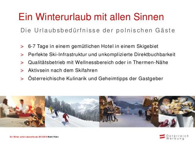 Ein Winter voller Lebensfreude 2015/2016 Markt Polen Urlaubsmotive > Aktives Entspannen > Skifahren, gepaart mit alternati...