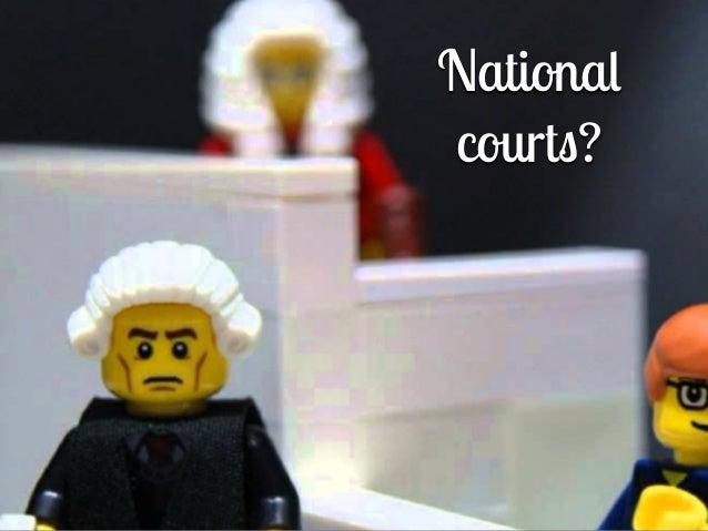 Nationa l court s ?