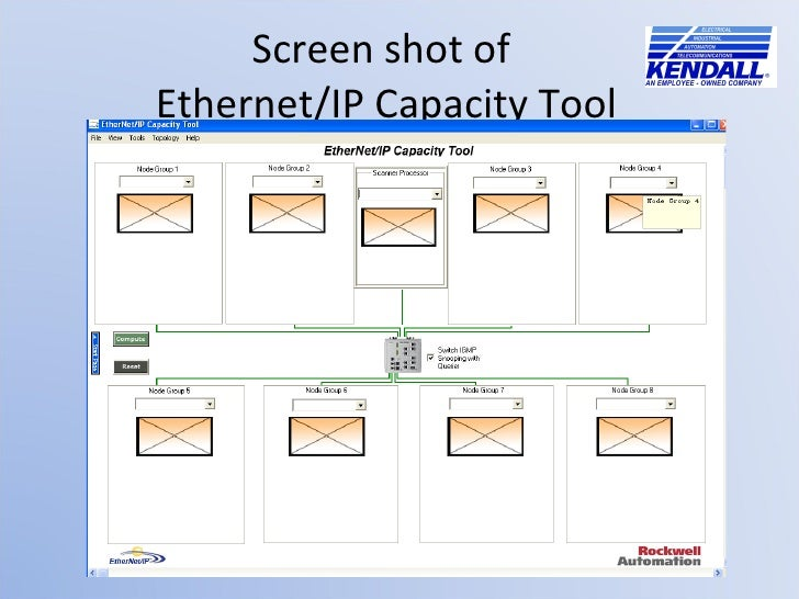 Ethernet/IP Connections in a Logix Controller System