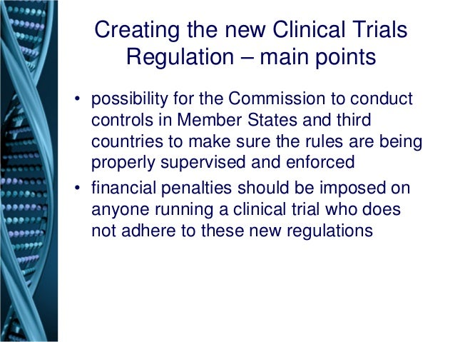 Clinical Trials and Human Subject Protection