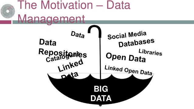 The Motivation – Data Management BIG DATA