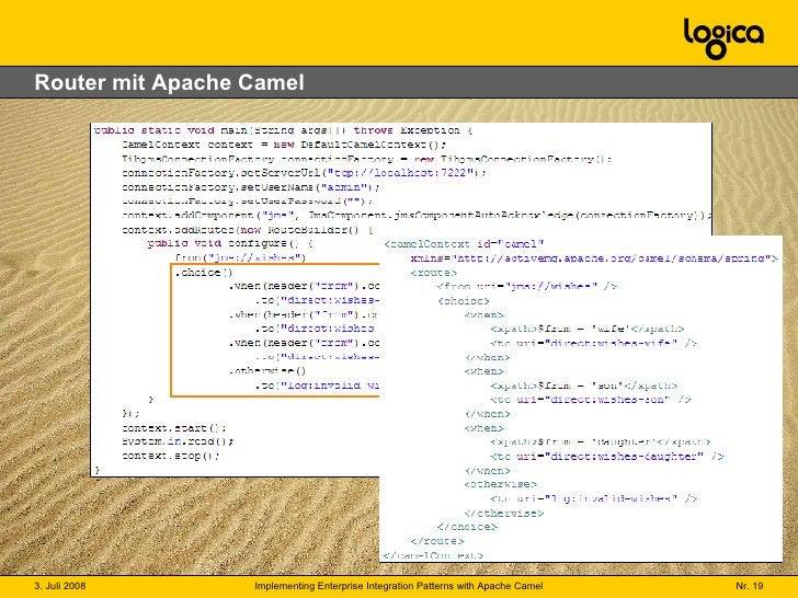 Router mit Apache Camel
