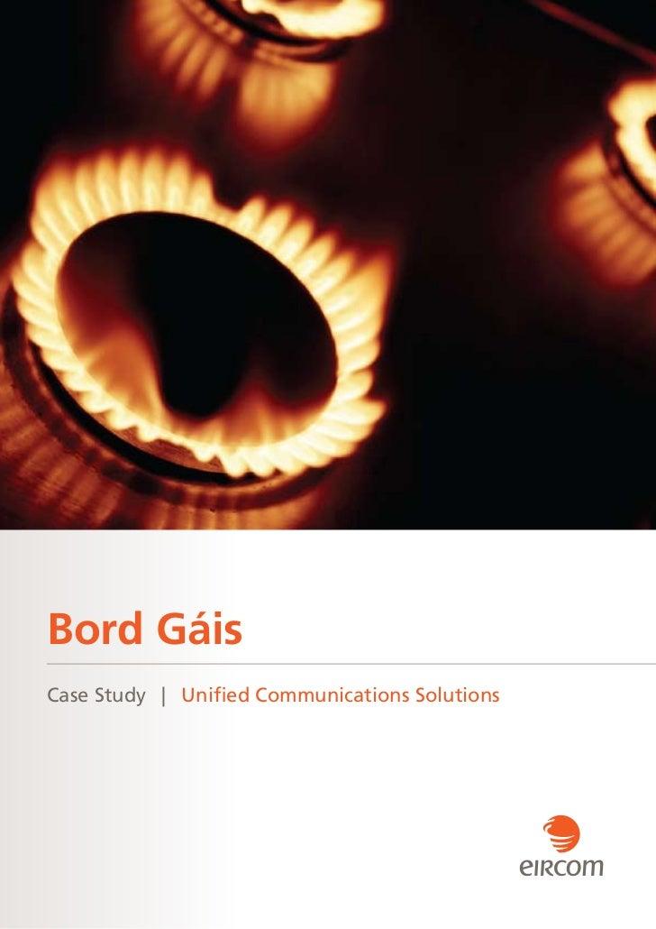 Bord GáisCase Study   Uni ed Communications Solutions