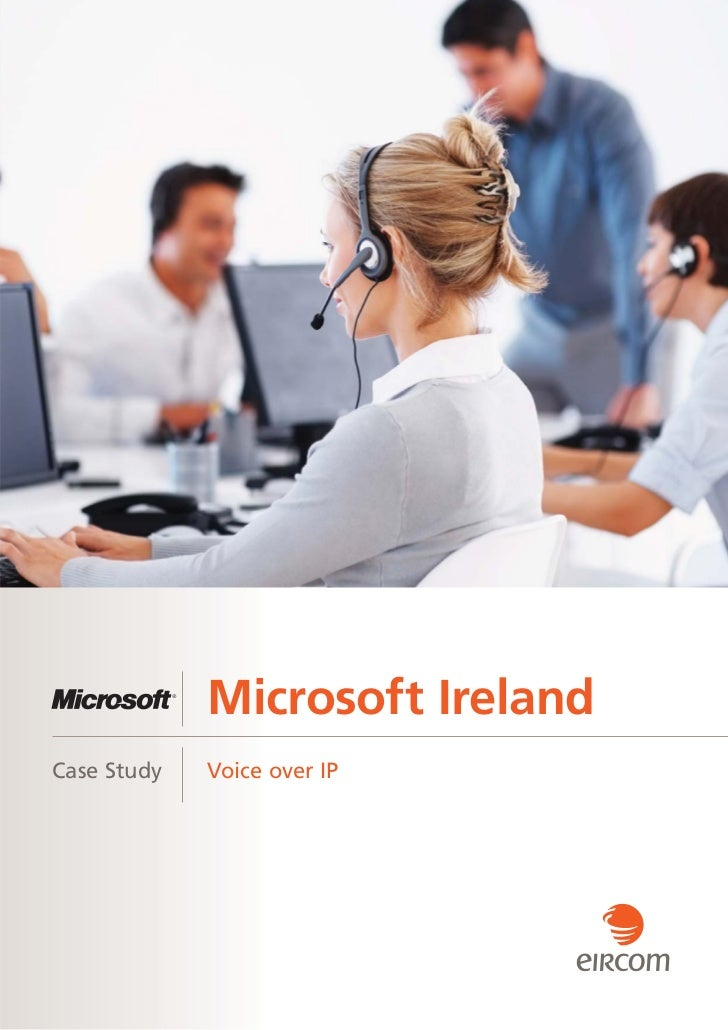 Microsoft IrelandCase Study   Voice over IP