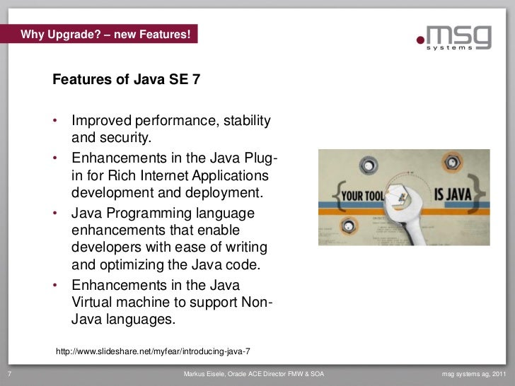 Java 7 State Of The Enterprise