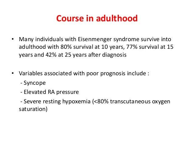 Eisenmenger syndrome