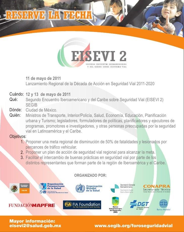 RESERVE LA FECHA                                    EISEVI 2 SEGUNDO ENCUENTR IBEROAMERICANO                              ...