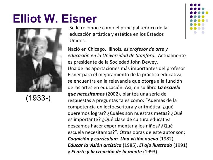 elliot eisner art education