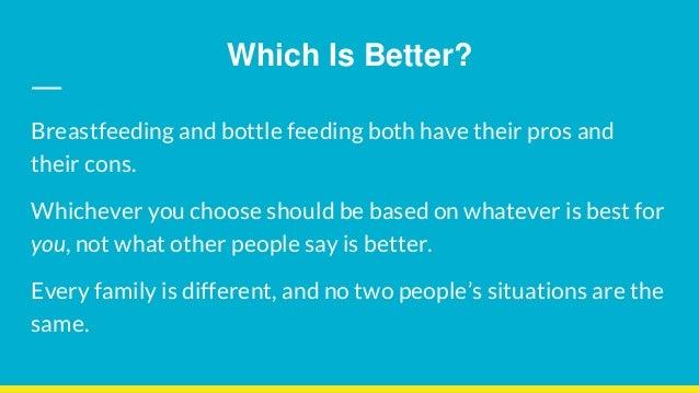 Breastfeeding vs. Formula Feeding