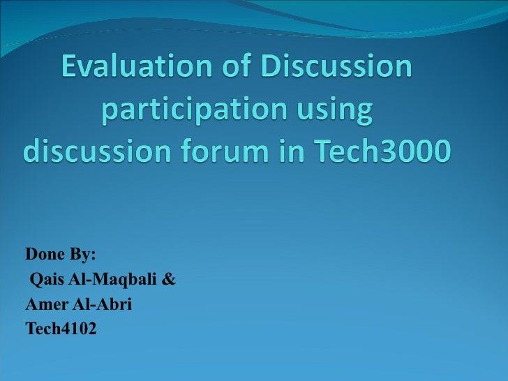 Done By: Qais Al-Maqbali &  Amer Al-Abri Tech4102